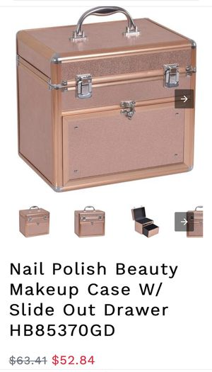 Nail beauty makeup case for Sale in Fresno, CA