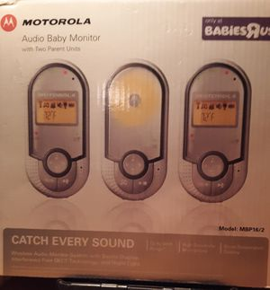 Motorola baby monitors for Sale in Vermillion, SD