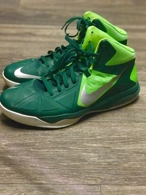 Green Nike basketball shoes for Sale in Riverside, CA