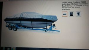 Boat STORAGE COVER. High quality Taylor Made fits 17'-19' boat. for Sale in Bothell, WA