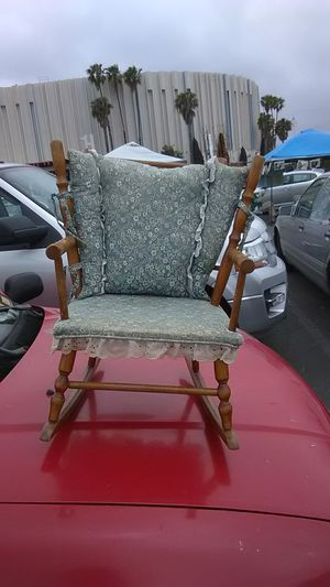 Thayer antique toddler rocking chair for Sale in Chula Vista, CA