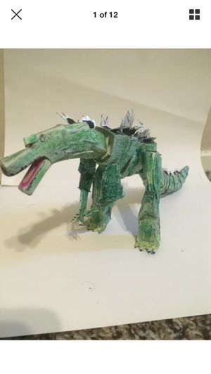 S.H.Monsterarts Godzilla Junior 1995 Handmade Fully Posable Action Figure.Inspired by Tamashi Nations. for Sale in Austin, TX