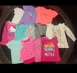 Lot of Toddler Girls Onesie T-Shirts Shirts Size 24 mo months New for Sale in Phoenix, AZ