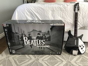 Beatles Rock Band Limited Edition PS3 (+ EXTRA guitar and dongle!!!) for Sale in Los Angeles, CA