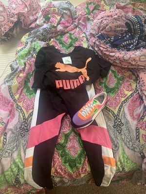 Puma 8 outfit large Nike fit $90 for Sale in Detroit, MI