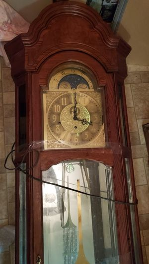 Ridgeway Cherrywood Grandfather Clock for Sale in West Monroe, LA