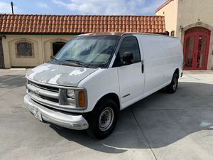 2000 Chevy Express 3500 Cargo Van Extended Body Runs Great for Sale in El Monte, CA