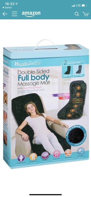 Health Touch Double Sided Massage Mat for Sale in Rancho Cucamonga, CA