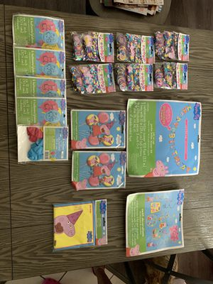 Peppa Pig Party supplies for Sale in Miramar, FL