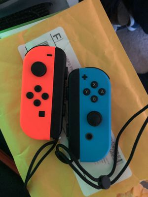 Nintendo switch joy cons for Sale in Gaithersburg, MD
