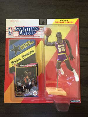 Magic Johnson Starting lineup Figures 1988 1992 for Sale in Anaheim, CA