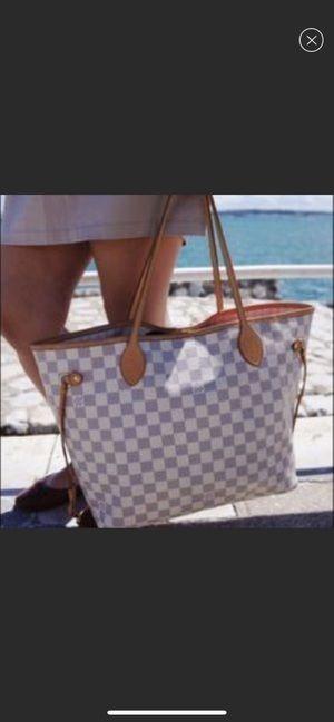 Louis Vuitton Neverfull Damier Azur Bag for Sale in Herndon, VA