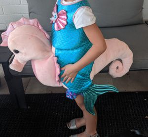 Mermaid and Sea Horse Play Costume 4T for Sale in Phoenix, AZ