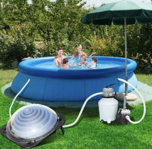 Costway Black Outdoor Solar Dome Inground &Above Ground Swimming Pool Water Heater for Sale in Claremont, CA