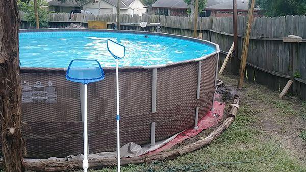 Swim pool Ladder