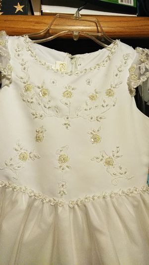 Cinderella White First Communion/ Flower Girl Dress for Sale in Denver, CO