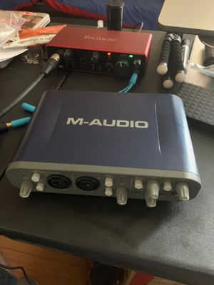 M-audio Fast Track Pro for Sale in Los Angeles, CA