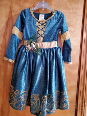Disney Merida Brave Costume for kids Size 3 toddler for Sale in East Hartford, CT