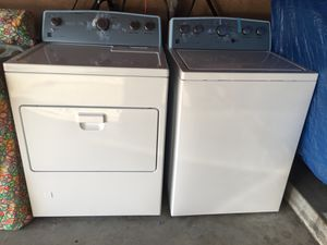 Kenmore (new washer & dryer). Warranty until 6/2020 for Sale in Hawthorne, CA