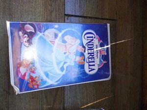 Cinderella movie VHS for Sale in Sebastian, FL