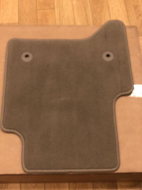 NEW 2015-19 GMC YUKON XL SLT DENALI Front & Rear Carpet floor mats Beige/Tan/Light Brown