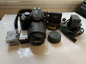 Nikon D5000 DSLR camera for Sale in Cascade-Fairwood, WA