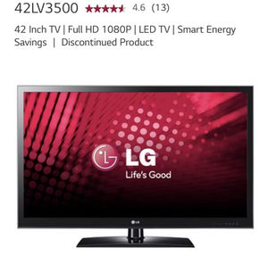 LG 42 Inch TV | Full HD 1080P | LED TV | Smart Energy Savings for Sale in Boston, MA