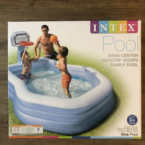 Intex Shootin' Hoops Swim Center Family Pool, for Ages 3+ *NEW* for Sale in Bowie, MD