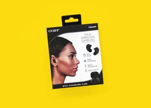 Wireless Bluetooth Earbuds with Built In Mic & Charging Case (BLACK) for Sale in Sacramento, CA