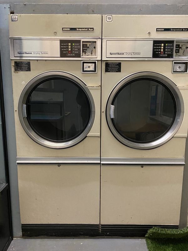 30 Ib Speed Queen Commercial Dryer, 2 available