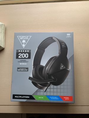 Recon 200 gaming headset ps4 new in box sealed ps5 Xbox Nintendo switch headphones for Sale in Miami, FL