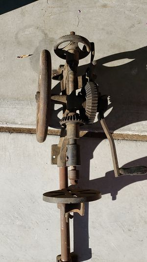 Drill press,hand crack wall mount. for Sale in North Las Vegas, NV