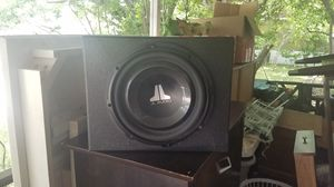 """JL Audio 10"""" Subwoofer in Pro Box for Sale in Dallas, TX"""