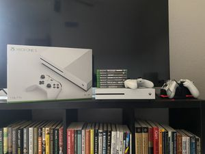 XBOX ONE-S NBA 2K Edition with Additional Controllers & Games for Sale in Phoenix, AZ