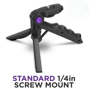 Mini Tripod Tabletop Stand w/ Soft Pistol Grip for DSLR, Smartphones, Audio Recorder and Video Cameras for Sale in Buena Park, CA