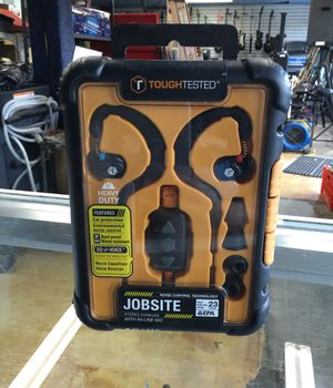 Toughtested jobsite stereo earbuds for Sale in San Diego, CA