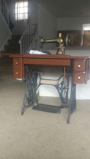 Vintage Singer Sewing Machine for Sale in Fairfax, VA