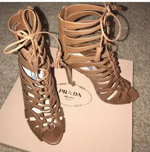 Prada lace up heels for Sale in Billerica, MA