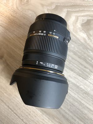 Sigma 7-50mm f/2.8 EX HSM Sony A mount lens for Sale in Seattle, WA