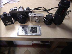 Pentax 35 MM Camera & Minolta Zoom Camera for Sale in Washington, PA