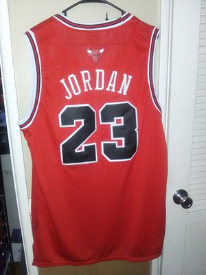 New! Mens XL Michael Jordan Chicago Bulls Jersey Stiched $45 pick up in West Covina for Sale in West Covina, CA