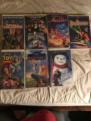 Disney VHS Lot for Sale in Des Moines, IA