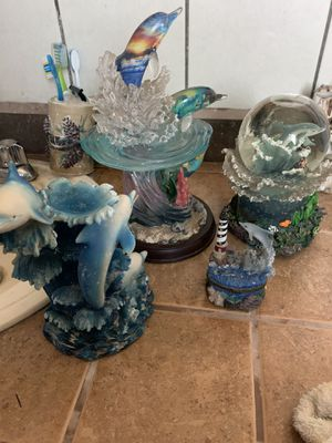 Set of dolphins figurines for Sale in Prosser, WA