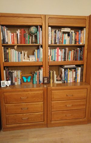 Dressers & bookshelves set - 6 separate pieces for Sale in Miami Gardens, FL