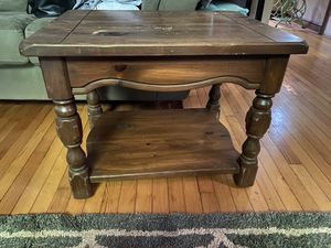 Wooden end table for Sale in Rocky Mount, VA