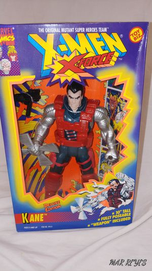 "X-FORCE ""KANE"" 10 Inch figure by Toy Biz for Sale in Queens, NY"