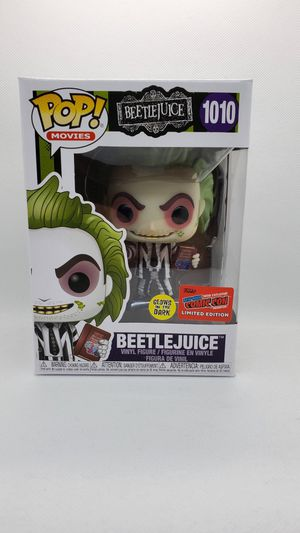 Funko Pop! #1010 Beetlejuice NYCC 2020 Official Sticker Glow-in-the-Dark for Sale in Lawndale, CA