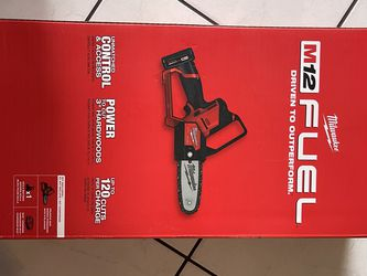Milwaukee M12 Fuel 6 in. Hatchet Pruning Saw Kit /w 4.o Ah Battery & Charger …$195 Price Firm for Sale in Garden Grove,  CA