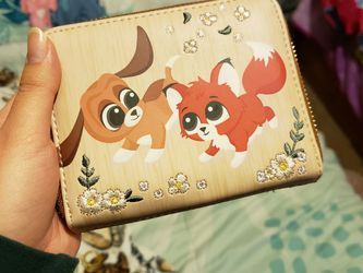 Disney The Fox & The Hound Loungefly Wallet for Sale in Fresno,  CA