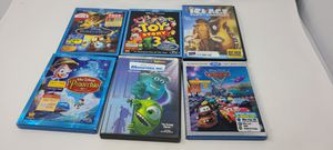 Disney DVD Blu Ray Movies Cars Frozen Toy Story Mickey Mouse Mary Poppins for Sale in Monrovia, CA